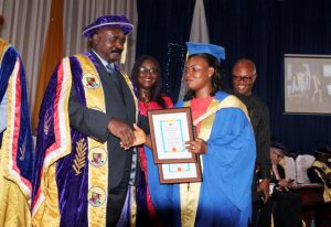 Amnesty Programme beneficiary as IUO Best Graduating Student: Ovbude Queen Ohiolei