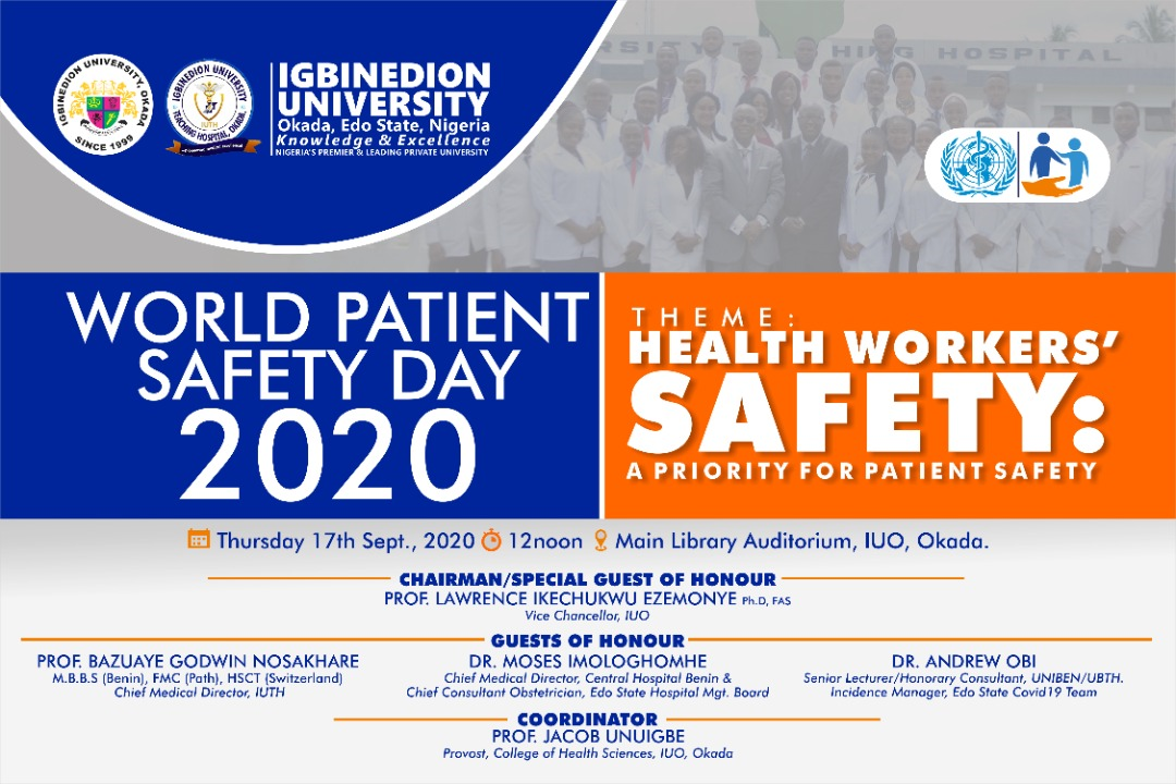 WHO PATIENTS SAFETY DAY CELEBRATION