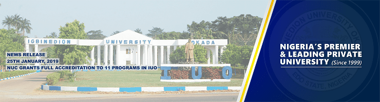 NUC GRANTS FULL ACCREDITATION TO 11 PROGRAMS IN IUO