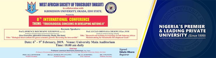 Igbinedion University West African Society of Toxicology