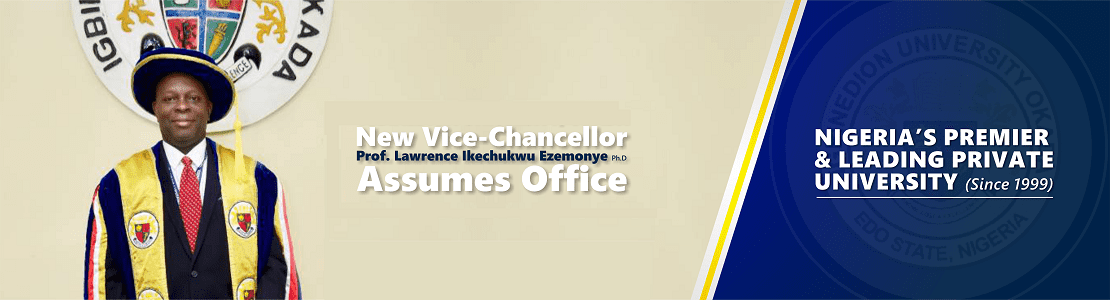 New VC assumes office