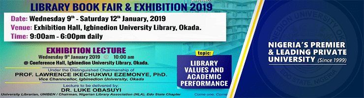 LIBRARY BOOK FAIR AND EXHIBITION 2019