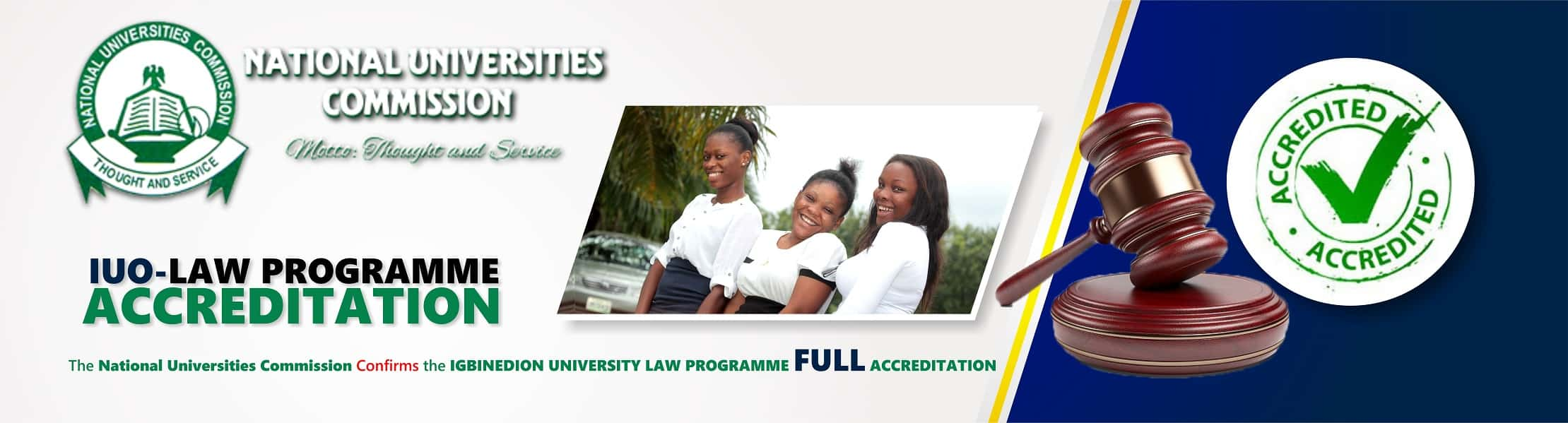 IUO law programme accreditation