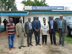 VC Visits Benin Center